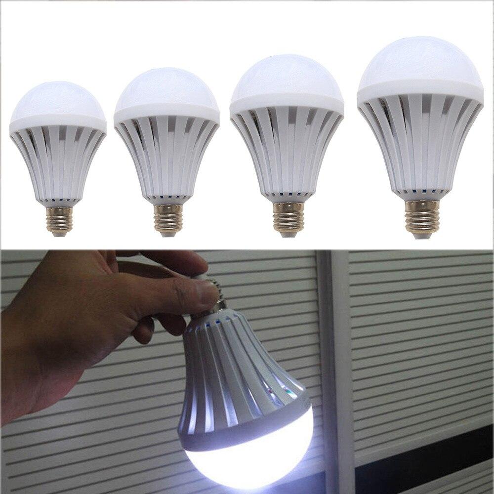 CARPRIE recargable LED 5W 7W 12W 15W bombilla de emergencia recargable inteligente emergencia Sensor táctil lámpara inteligente #45