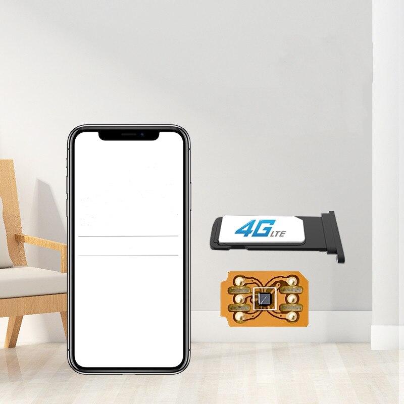 GN SIM Unlocking Chip for iphone6s/7/8/x  Sim Unlock Chip iOS 14 ICCID Mode Sim Card GNSIM Fast Shipping enlarge