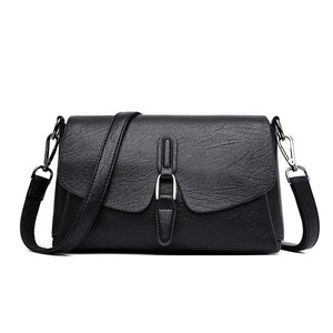 European and American Fashion All-match Casual Soft Leather Small Square Bag 2020 New Retro Ladies One-shoulder Diagonal Bag