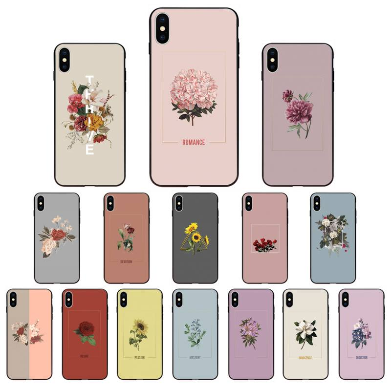 YNDFCNB Love Passion Yellow Sunflower Art Phone Case for iphone 11 12 Mini Pro Max X XS MAX 6 6s 7 8 Plus 5 5S 5SE XR SE2020