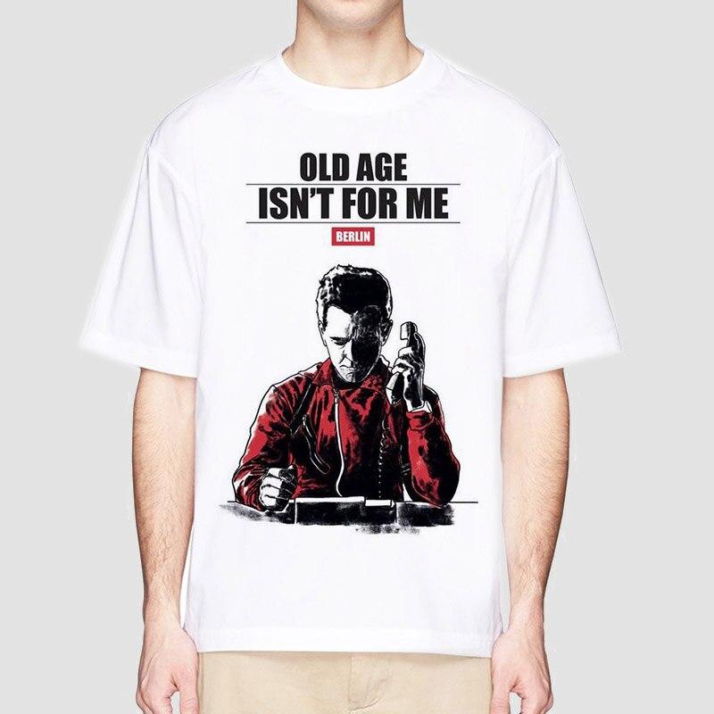 Camiseta De La Casa De Papel, camisetas De La serie De TV, camisetas De diseño divertido para hombres, camisetas De manga corta para hombres, camiseta De Casa De Papel