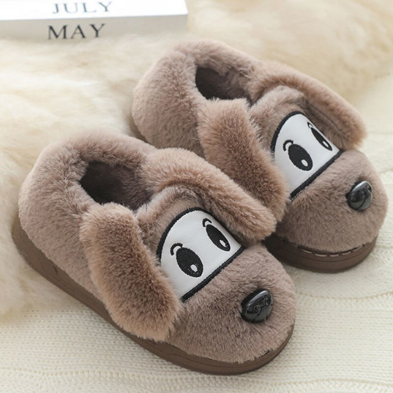 Baby Indoor Slippers Kids Boys And Girls Non-slip Unisex Home Child Shoes