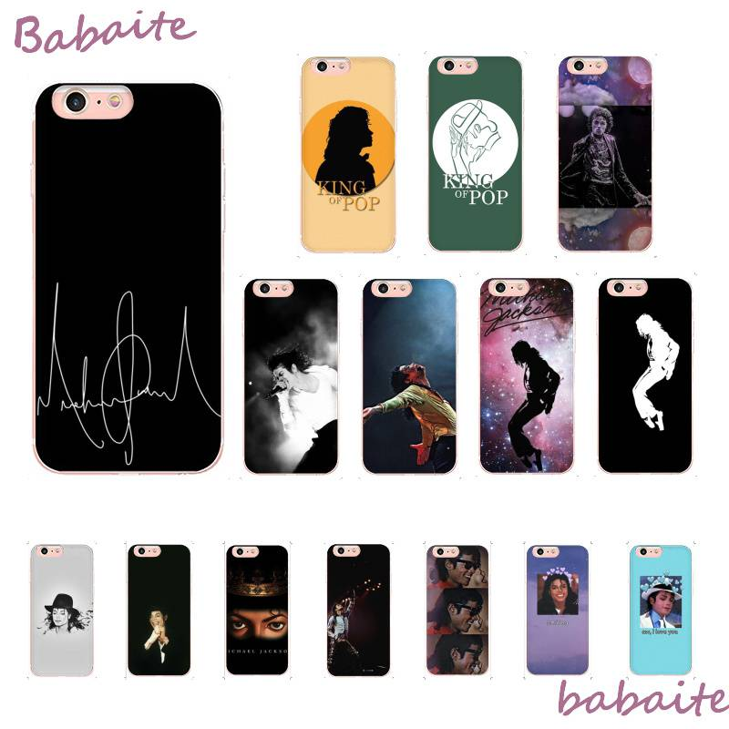 Babaite Michael Jackson Dance Musical Soft Silicone TPU Phone Cover For iPhone 8 7 6 6S Plus X XS MAX 5 5S SE XR Coque Shell