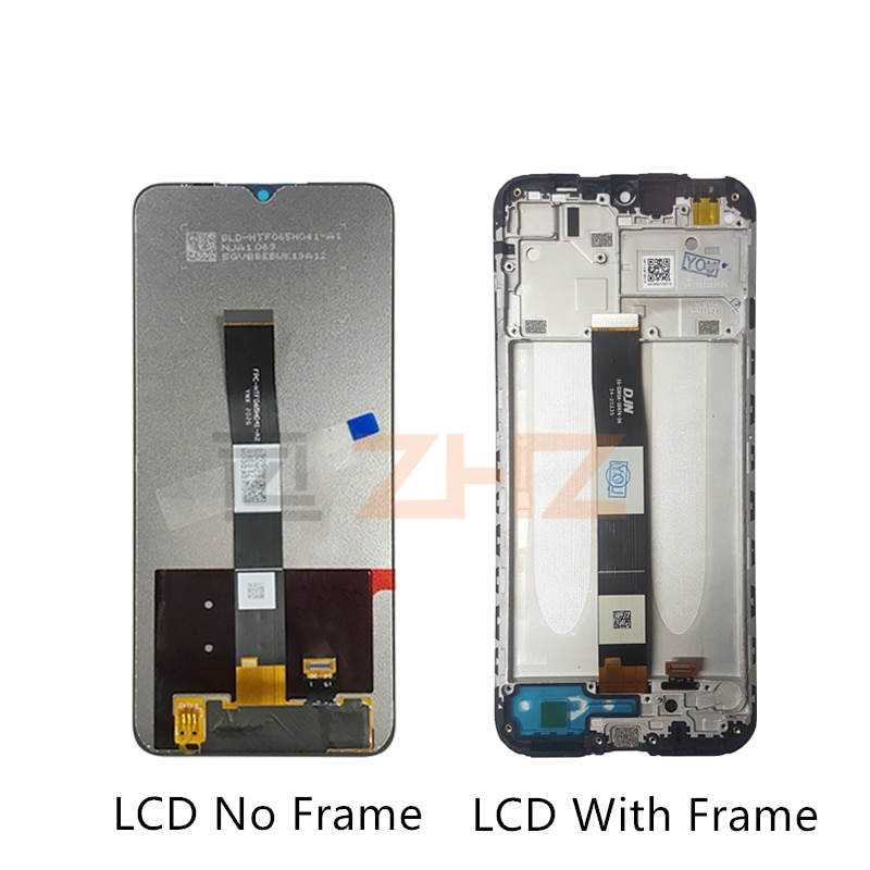 for Xiaomi Redmi 9A/ 9C lcd display Digitizer assembly With Frame for Redmi 9c display Replacement Repair Parts 6.53