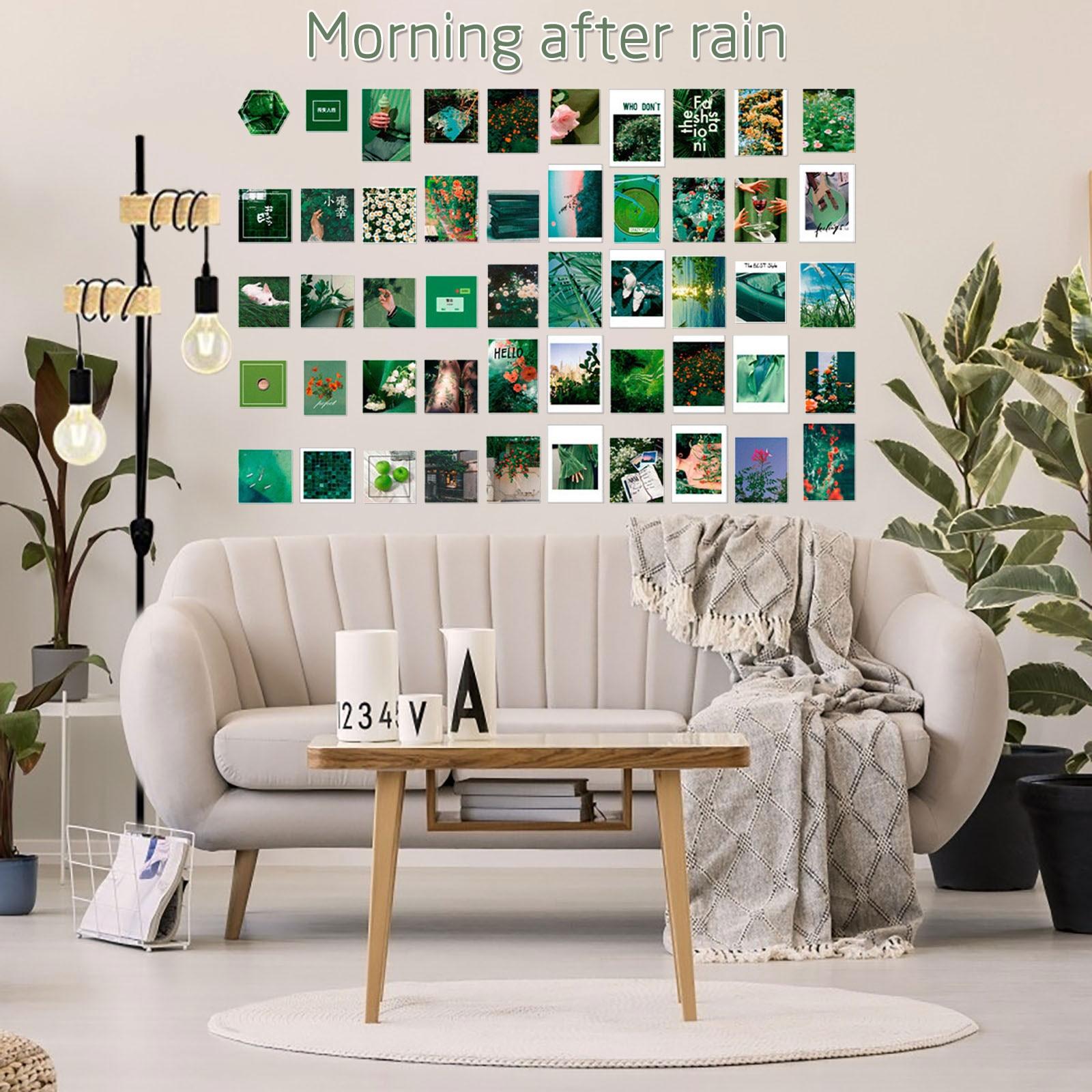 Vinilo adhesivo para paredes, pegatinas de fotos decorativas para chicas adolescentes, bricolaje