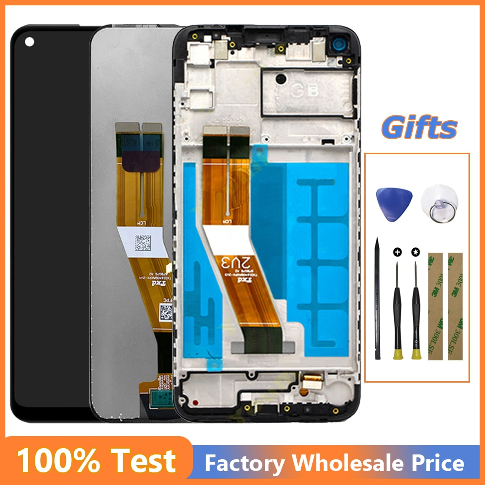 6.4'' LCD Display For SAMSUNG Galaxy M11 M115 2020 M115F M115F/DS M115M/DS Touch Screen Digitizer As
