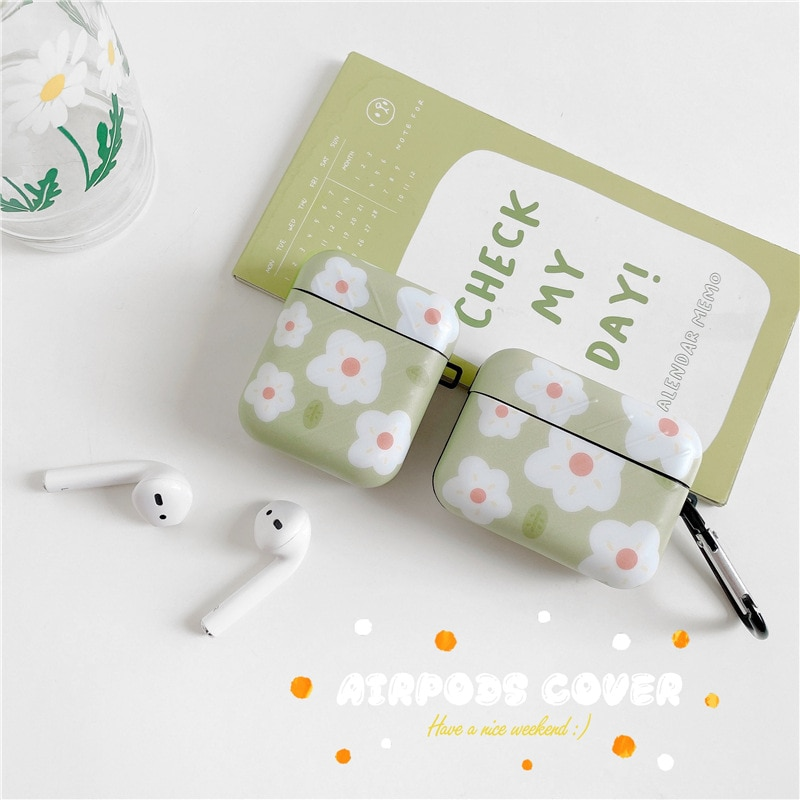 Silicone Case for Airpods Pro Case Fresh Flower Cover Earphone Case Wireless Bluetooth for Apple for Air Pods Pro 3 2 1 Fundas enlarge