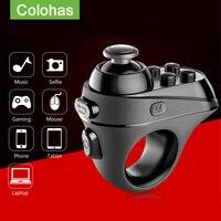 Беспроводной bluetooth-совместимый игровой контроллер для пальцев адаптер рукоятки мыши Игровые Мыши Mause Gamer поддержка системы Android iOS