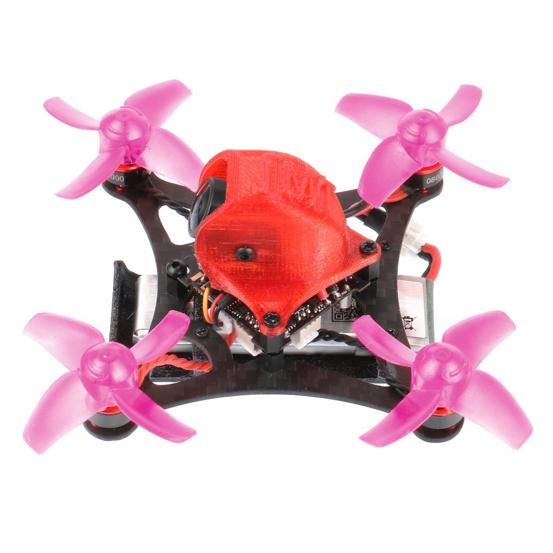 JMT 85MM DIY Drone RC BNF Kit con Crazybee F4 Lite integrado Frsky RX SE0802 16000kv motores 450MAH 1S batería interior Mini FPV Quadcopter