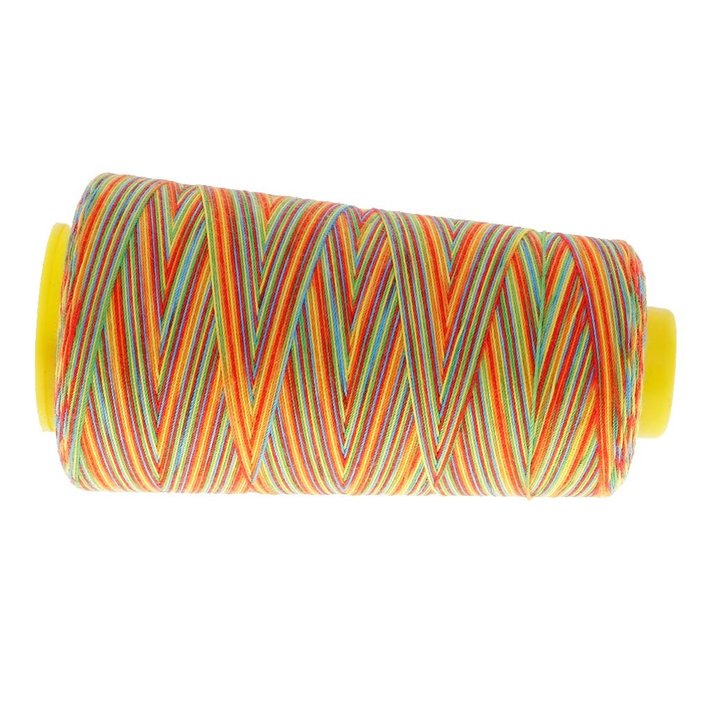 6 stücke Multicolor Polyester Nähgarn Nähen Hand Oder Maschine Zubehör