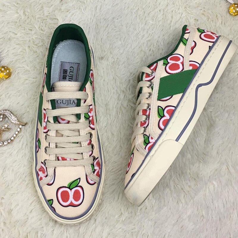 إيطاليا gujia المألوف جلد البقر حذاء مسطح من 2020 زوج من طالب أحذية رياضية عالية الجودة أحذية نسائية