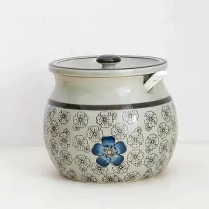 Oil Bottle High Temperature Resistant Hot Oil Tank To Send Spoon Japanese Ceramic Oil Spicy Jar Seasoning Jar Salt Shaker Pepper