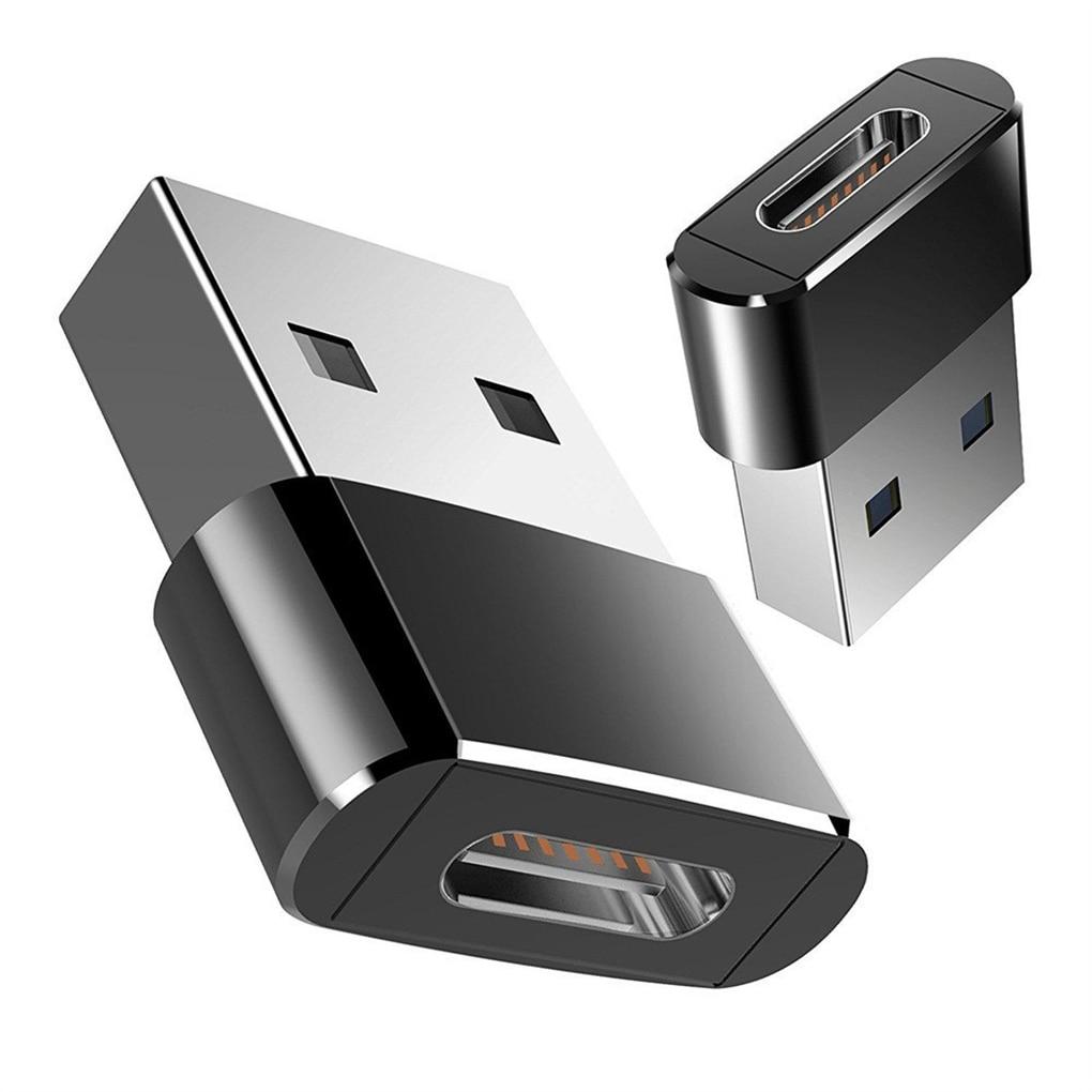 Adaptador USB a tipo C OTG, convertidor de Cable macho a tipo...