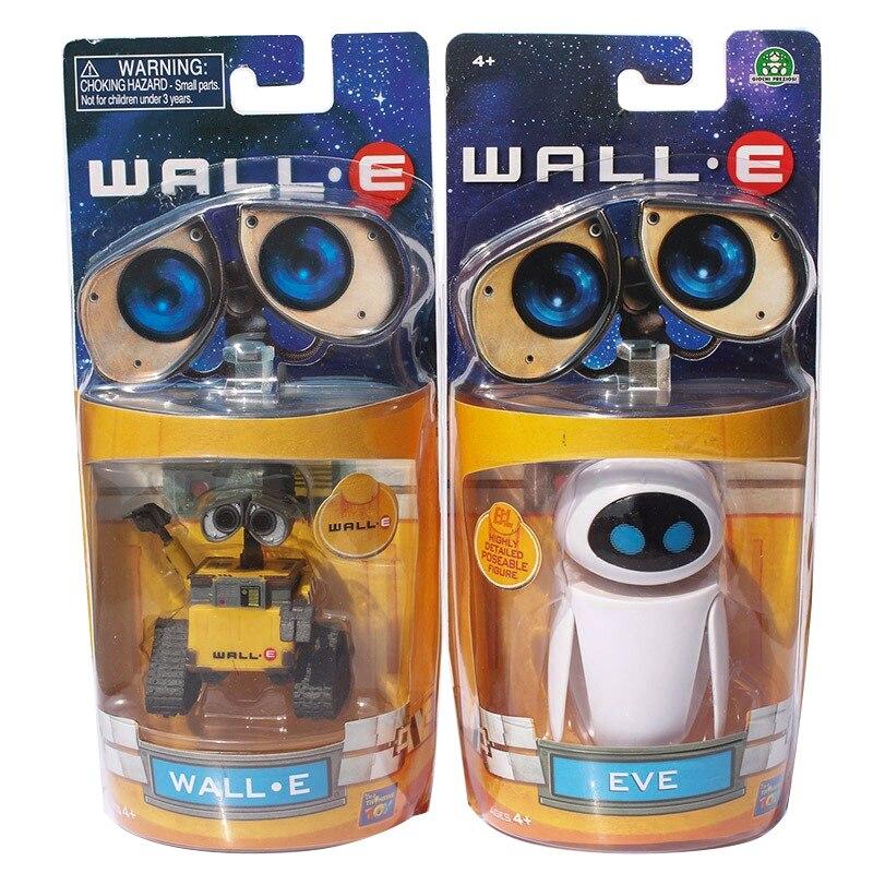 Parede e brinquedo eve wall-e robô figuras bonecas modelo colecções crianças presentes