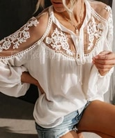 spring and summer new style solid color chiffon blouses europe and the united states large size loose thin wild blouses