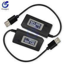 Портативный вольтметр USB для телефона с ЖК-экраном, портативный измеритель напряжения, зарядное устройство для мобильных телефонов, 2019