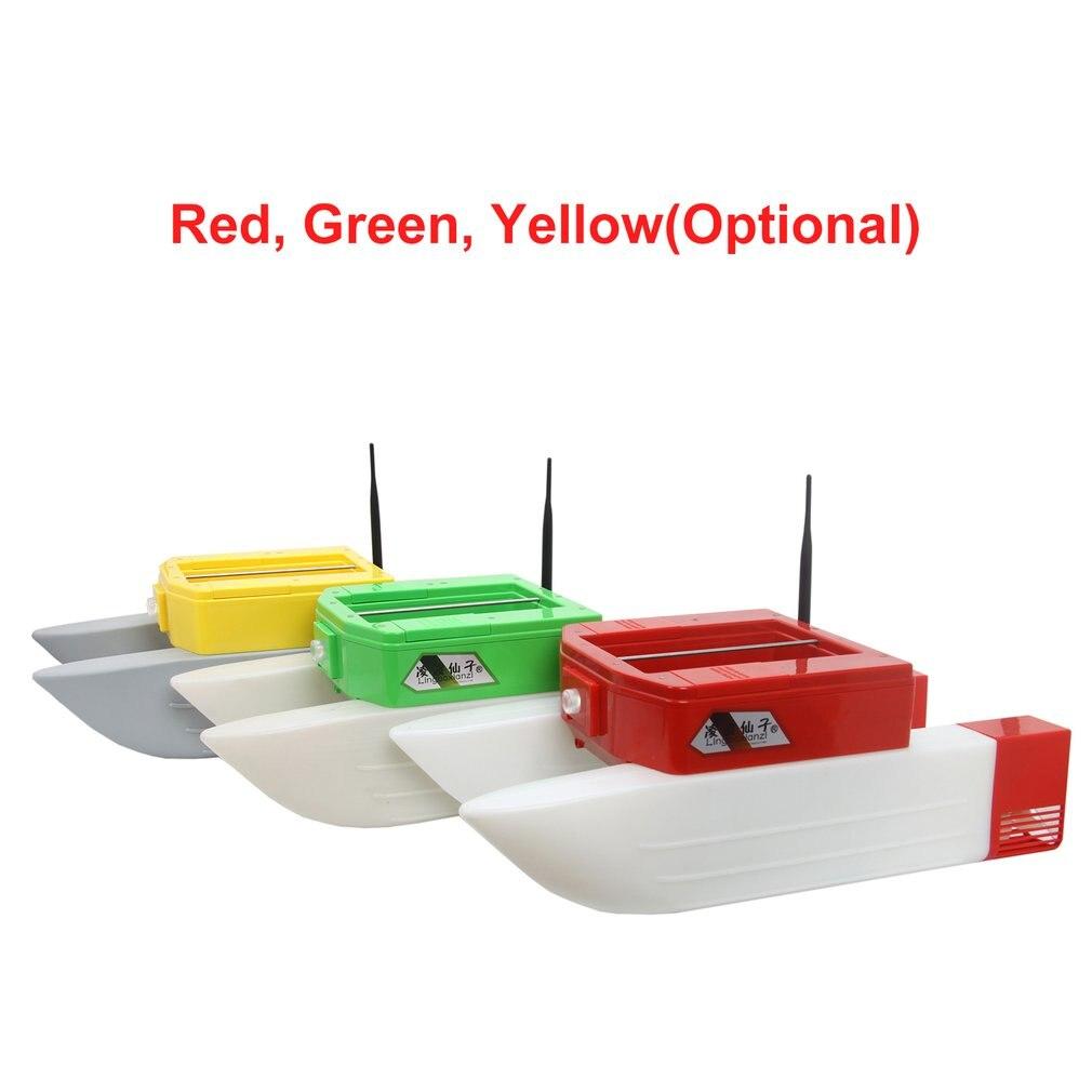 T168 rc barco inteligente sem fio isca de pesca elétrica controle remoto barco duplo armazém barco brinquedo presentes para crianças