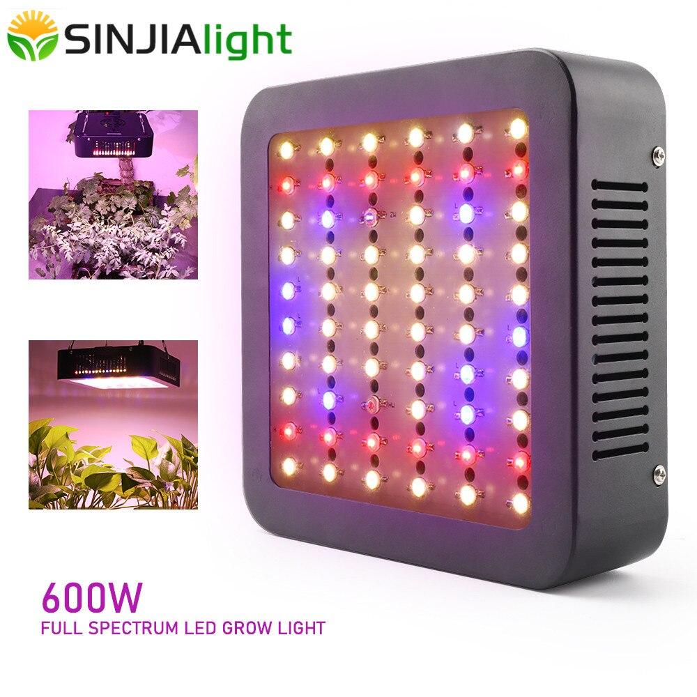600 w led crescer espectro completo de luz phytolamp planta lâmpada duplo chip para interior vegs plantas hidroponia crescer tenda estufa
