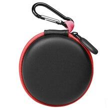 Headphone storage bag data cable storage box charger box red edge creative portable bag digital fini