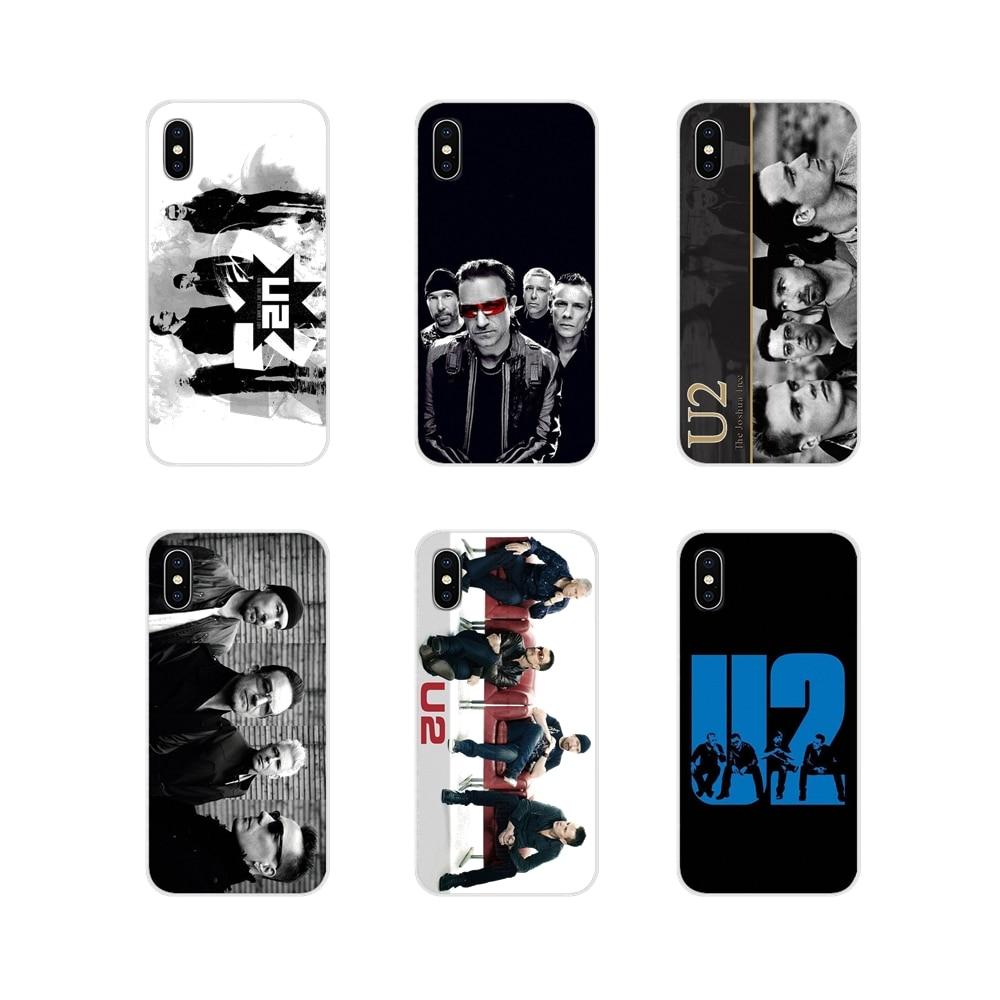 Аксессуары чехлы для телефонов Xiaomi Redmi Note 3 4 5 6 7 8 Pro Mi Max Mix 2 3 2S Pocophone F1 U2 Bono Joey Ramone band