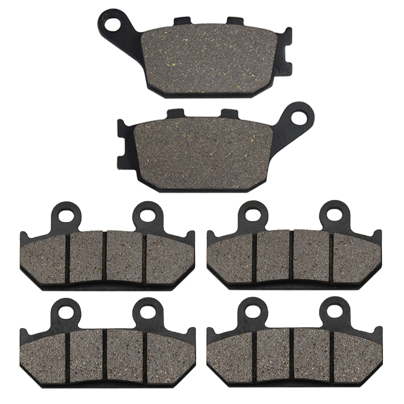 motorcycle parts front and rear brake pads discs kit for for cbr 600 f4 f4i motorcycle accessories Yerbay Motorcycle Parts Front and Rear Brake Pads For Honda CBR600 CBR 600 CBR 600 F2 CBR600 F2 CBR 600 FM FN FP FR 1991-1994