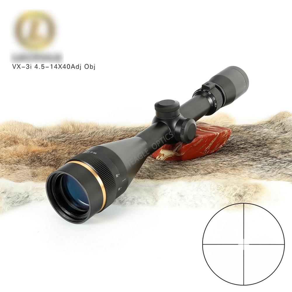 VX-3i 4.5-14x40 AO Duplex Reticle Hunting RifleScopes 1 Inch Tube Tactical Rifle Scope
