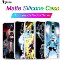 Siliconen Cover Voor Redmi 8A 8 7A 7 Shell Undertale Sans Voor Xiaomi Redmi 4X 5A 6 6A S2 K20 GO Pro Telefoon Case