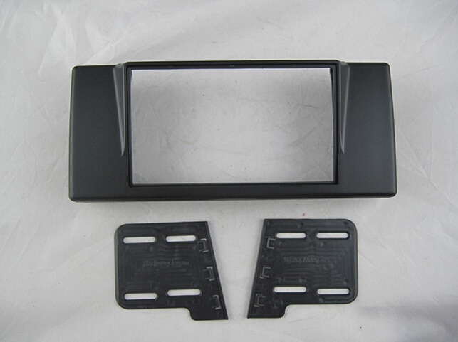 Voiture revêtement stéréo cadre de panneau Dash Kit pour E39 série 5 Version russe 1993 ~ 1995 1996 1997 1998 1999 2000 2001 2002 2003 2004