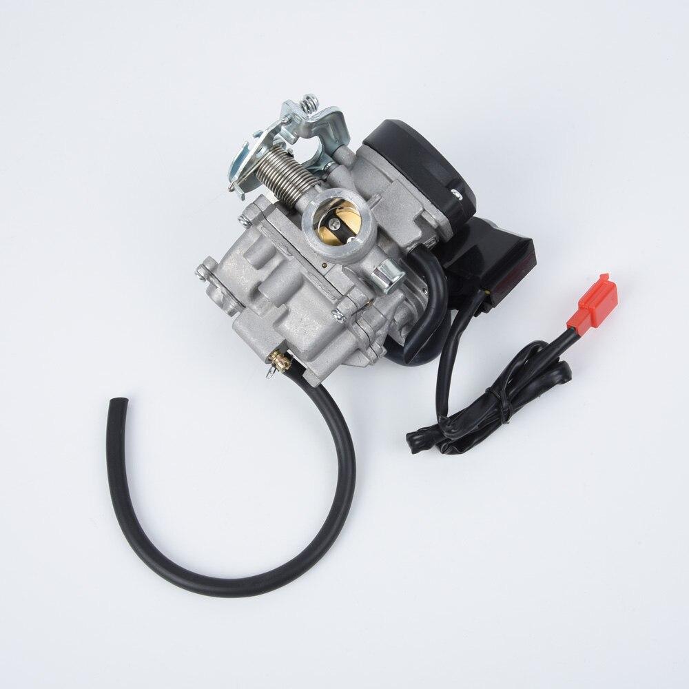 20mm de carburador de motor de acelerador para chino GY6 50cc 60cc 80cc 100cc 139QMB 139QMA Scooter