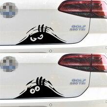 Autocollants de voiture monstre diable   Autocollants de décoration créative et humoristique, pour le coffre, le pare-brise de lauto, style de réglage automobile, Vinyls D30