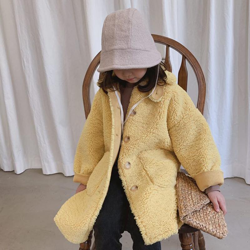 Children 2020 Autumn Winter Coat Lamb Wool Velvet Parkas Baby Girls Faux Fur Warm Coat Thicken Kids Girls Outerwear Clothes K183 enlarge