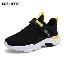 EOSNYX 2021 Fashion New Boys Girls Lace-Up Sneakers Baby/Toddler/Little/Big Kid Trainers Children Sc