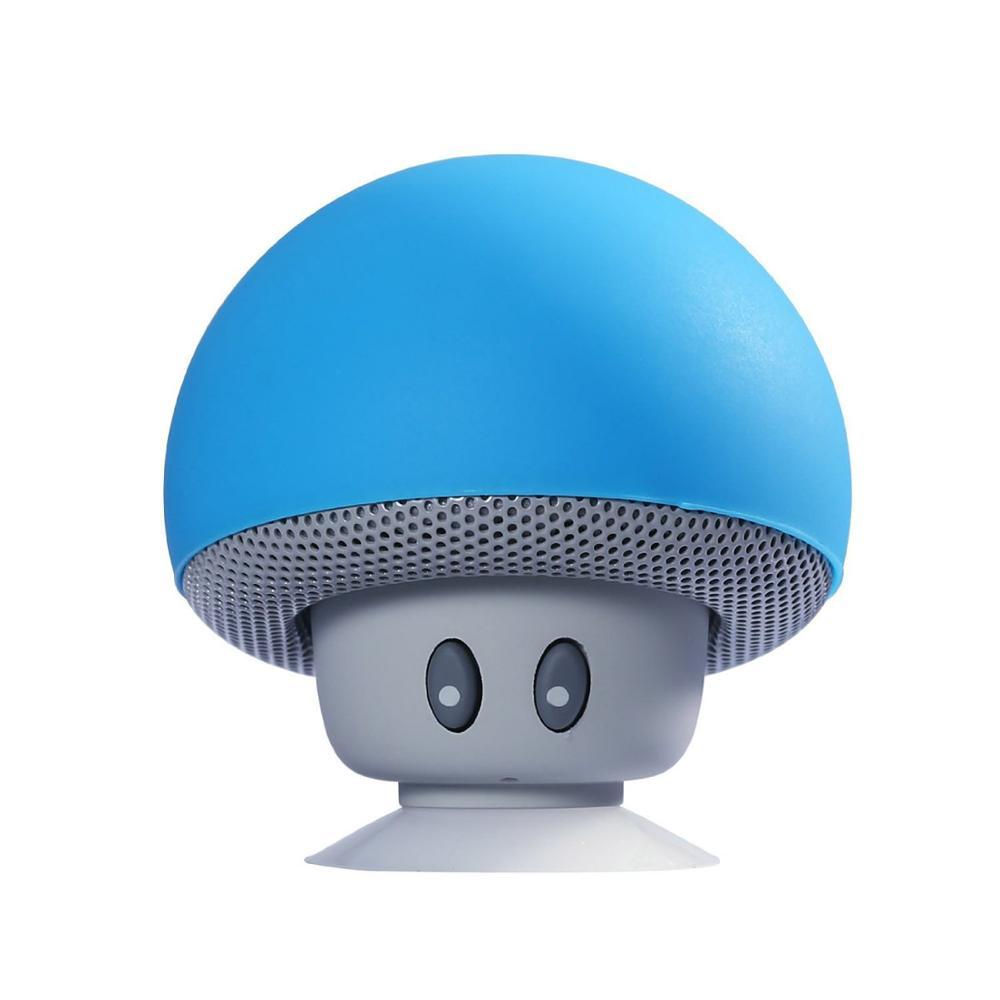 Cartoon Mushroom Wireless protable Speaker Mini protable Speaker Audio Outdoor Portable Stand Speaker Waterproof Sucker enlarge