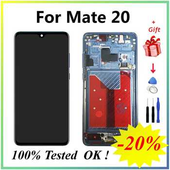 For Huawei Mate 20 LCD AMOLED LCD Screen Display Digitizer Assembly Touch Display Apply to Huawei Mate 20 Display for HMA-L29
