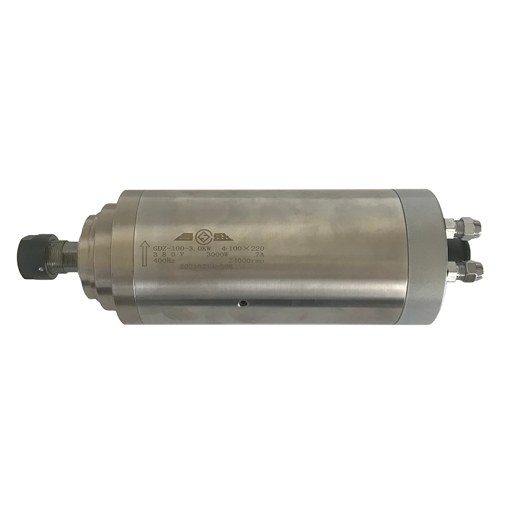 2.2KW 3.0KW 4.5KW نك المغزل المحرك 220 فولت 380 فولت المياه المبردة آلة الحفر Z محور رمح 85 مللي متر 100 مللي متر المغزل ER20 كوليت تشاك