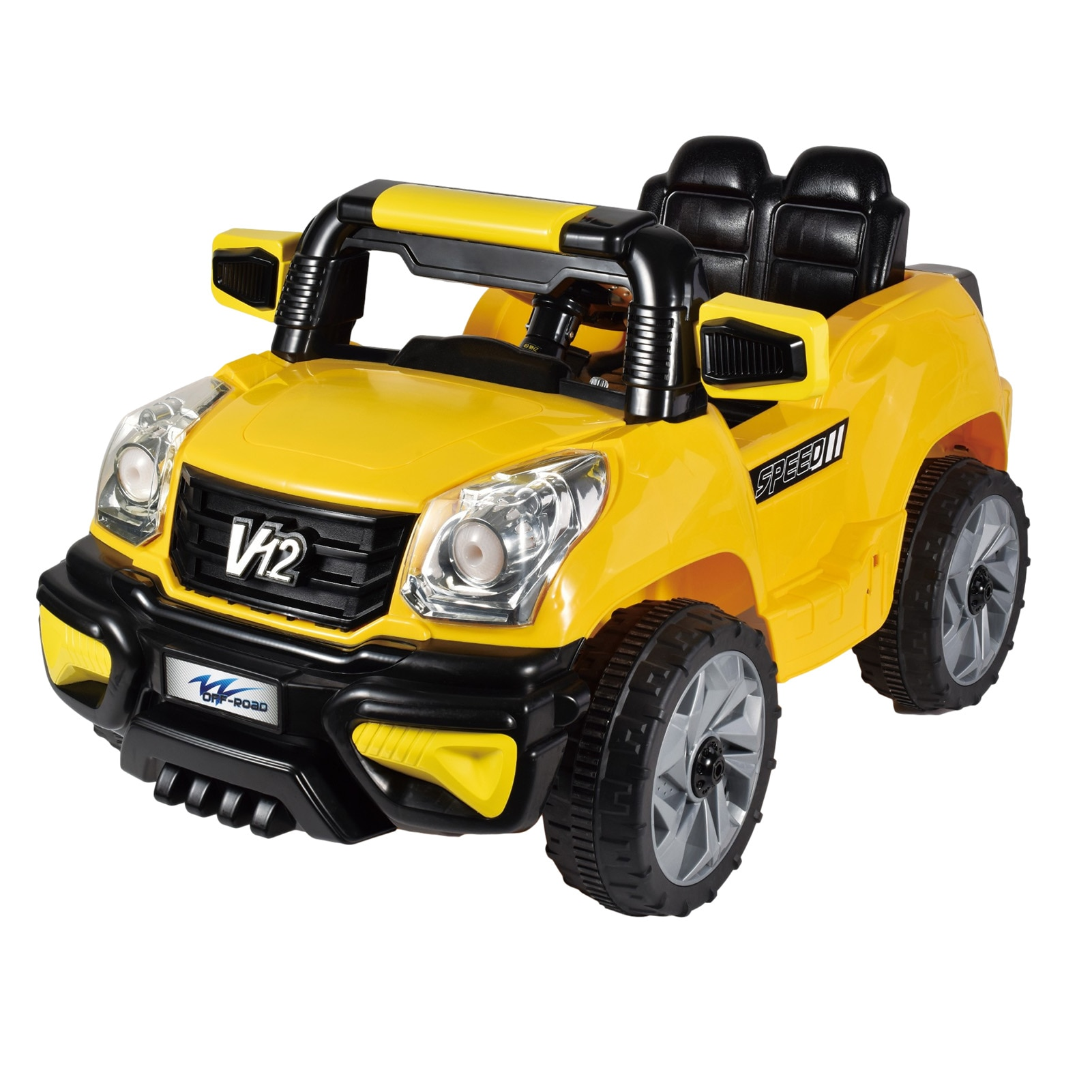 RC Car Toy With Light Music Battery Powered Spring Auto Toy Car Electric Stroller Single Drive 20Wx1 Battery 6V4.5AHx1