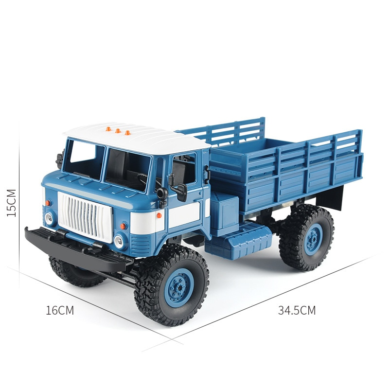 Remote Control Military Truck RC Car Simulation Drift Climbing Car LED Light Off-road Outdoor Vehicle Gift For Boy Adult Gift enlarge