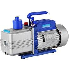 VEVOR 10CFM 2 étapes 1HP réfrigérant pompe à vide 254 L/M double étage AC pompe à vide