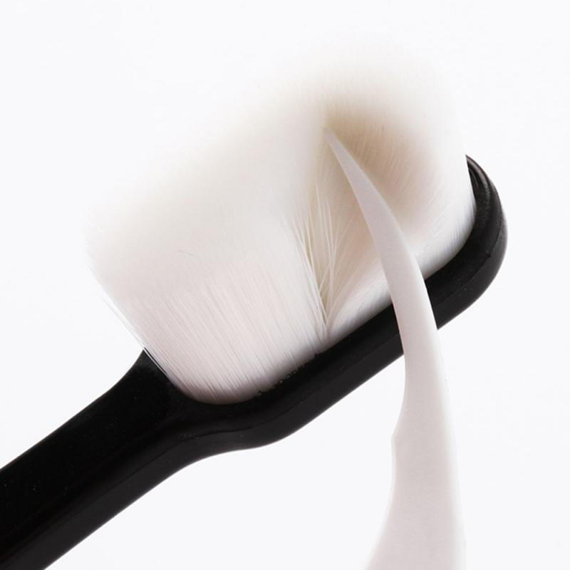 1PC Ultra-thin Super Soft Toothbrush Portable Eco-friendly Travel Outdoor Use Teeth Care Brush Oral Cleaning Oral Care Tools