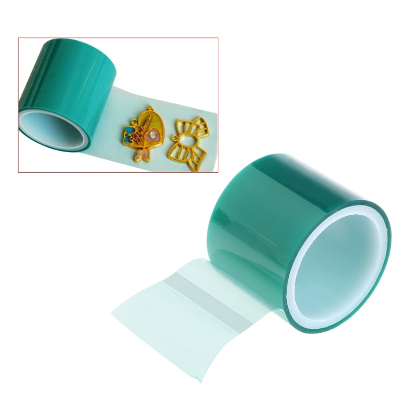 5m Paper Tape For Metal Frame Bottom Jewelry DIY Pendant Epoxy UV Resin High Adhesive Anti-leak Jewelry Making Tools