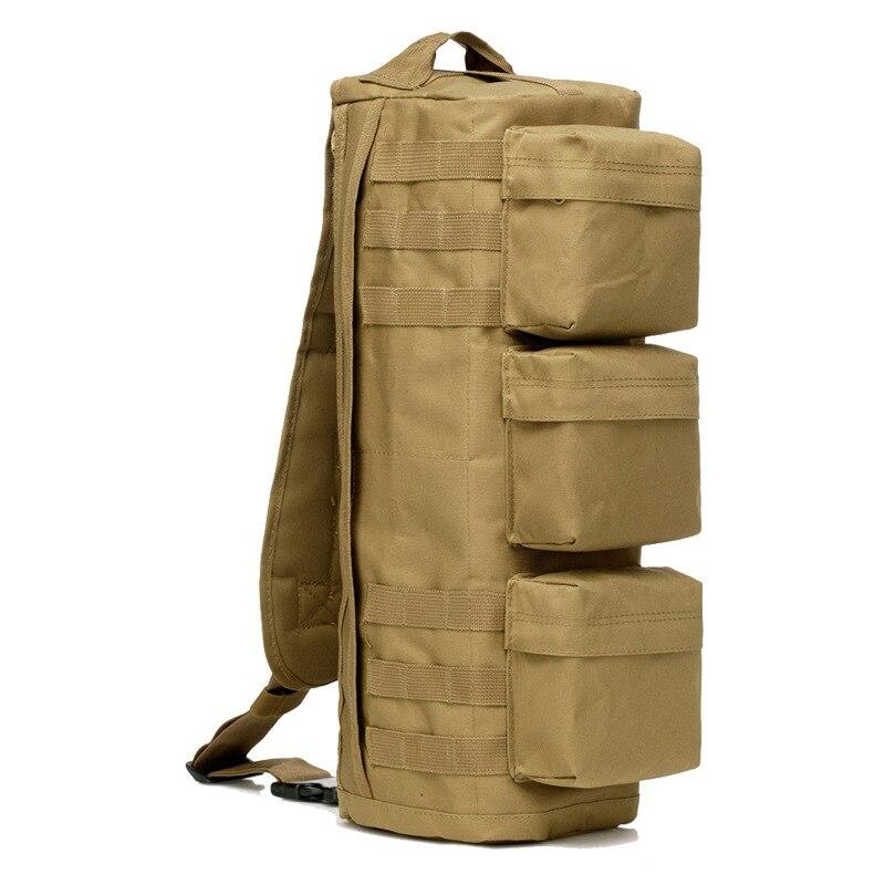Тактический Рюкзак-слинг, военный армейский Штурмовой Рюкзак Molle, мужской уличный походный Кемпинг Охота, водонепроницаемая нагрудная сумка через плечо