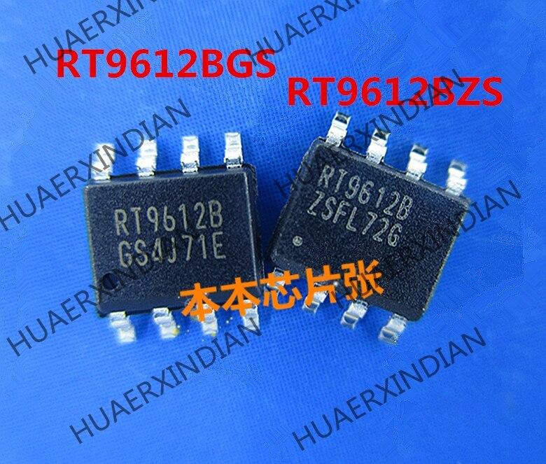 Nova RT9612BGS RT9612BZS RT9612B SOP8 alta qualidade