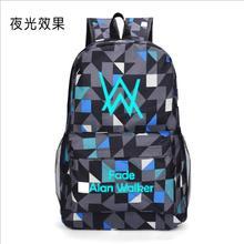 Gorący bubel Luminous wyblakłe alan walker plecak wysokiej jakości plecak torby podróżne dla kobiet mężczyzn