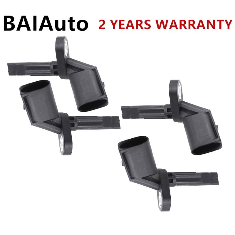 4E0927803E 4EO927803F Sensor de velocidad de rueda izquierda/derecha 4 Uds ABS para Audi A4 A5 A6 Q5 R8 para Volkswagen Phaeton Bentley ABS sensores