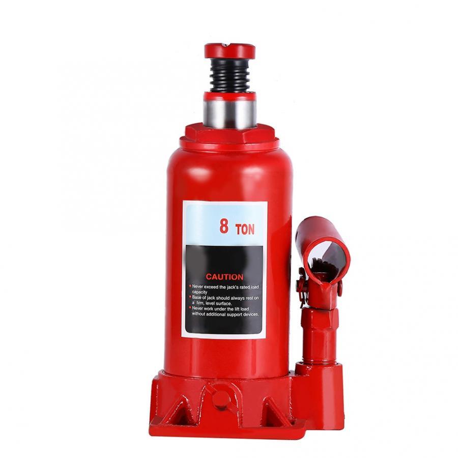 8T Portable Hydraulic Bottle Jack Automotive Life for Car Truck Caravan Tractors Vehicle Repair Tool
