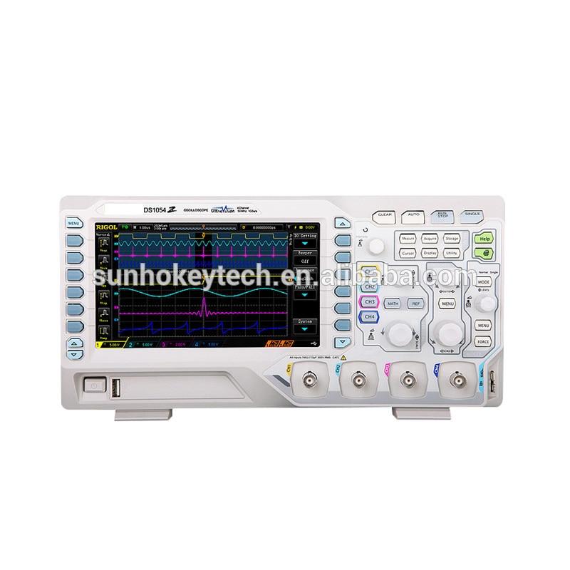 Osciloscopio Digital de alta calidad DS1054Z 50MHz ancho de banda 4 canales serie MSO/DS1000Z para medición electrónica