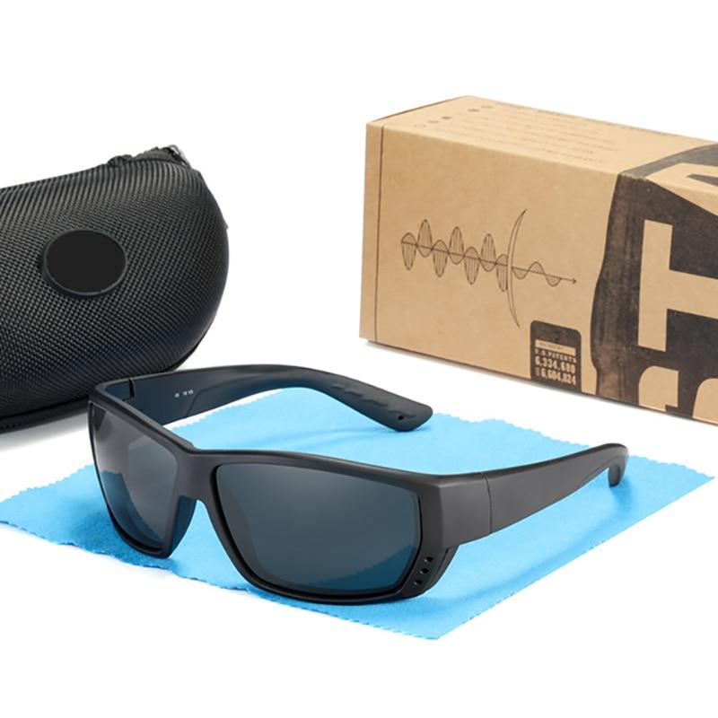 2021 New TUNA ALLEY Brand Sports Polarized Sunglasses TR90  Square Frame Reflective Coating Mirror l