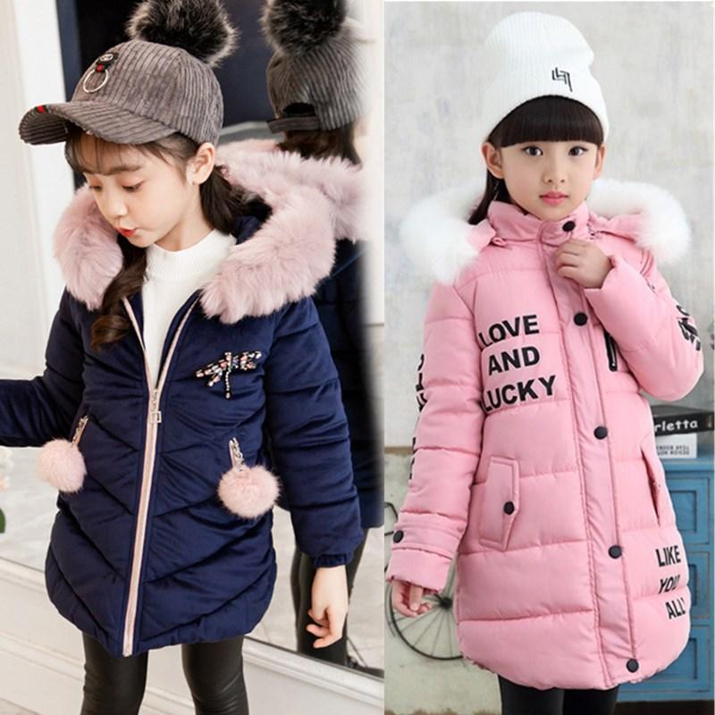 Abrigo de piel niñas a la moda abrigos gruesos y cálidos para bebés, chaquetas de piel sintética, Parka, ropa de abrigo para niños, abrigo para niños de 3 a 12 años