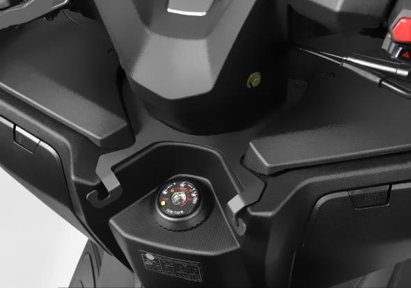 Gancho de almacenamiento de suspensión delantera de accesorios de motocicleta de aleación de aluminio para KYMCO XCITING S 400 2018-2019