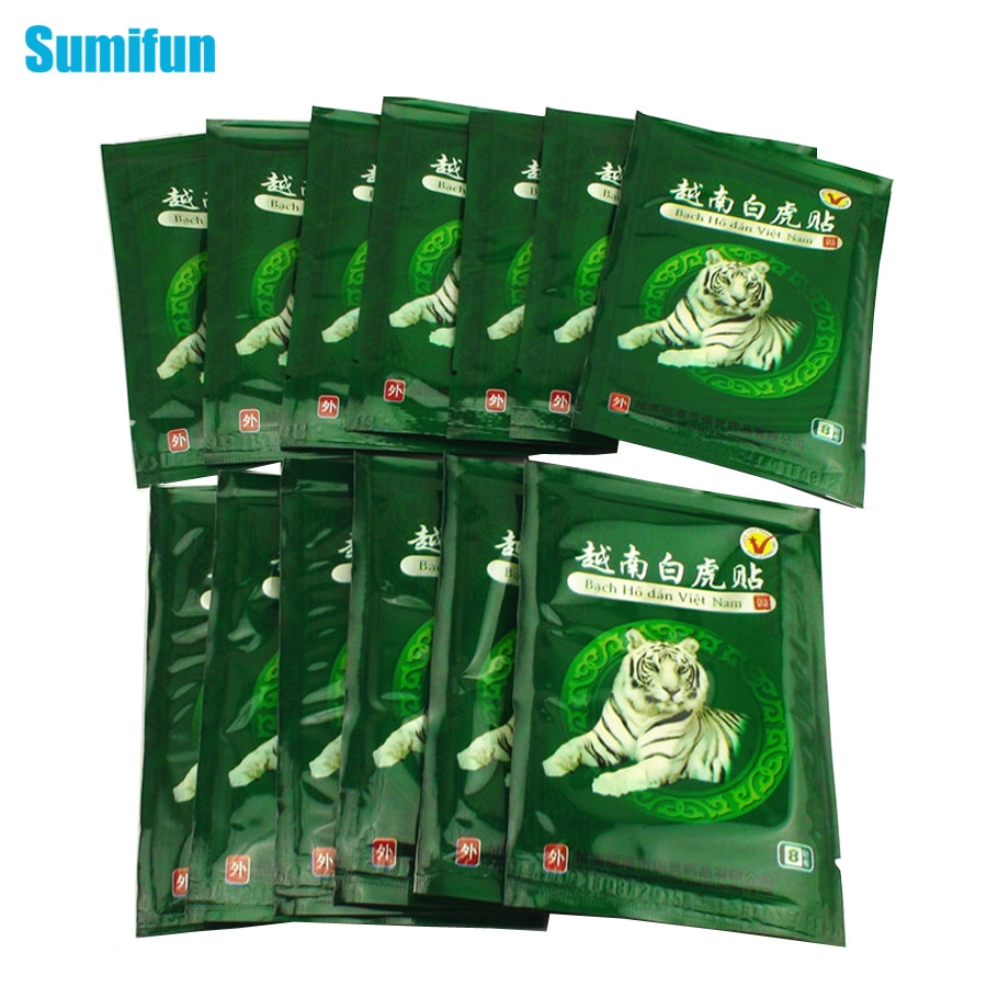 Sumifun 16 pièces Vietnam blanc baume du tigre douleur Patch Muscle épaule cou arthrite chinois à base de plantes plâtre médical C068